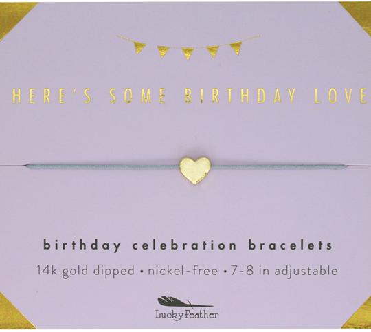 LF Bracelet Birthday Love