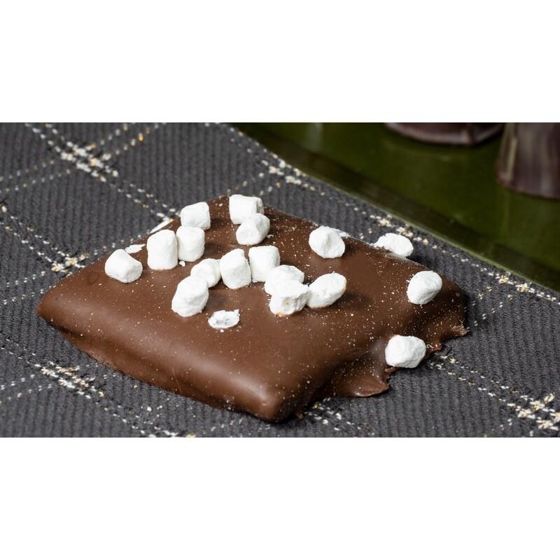 Chocolate Dipped Grahams