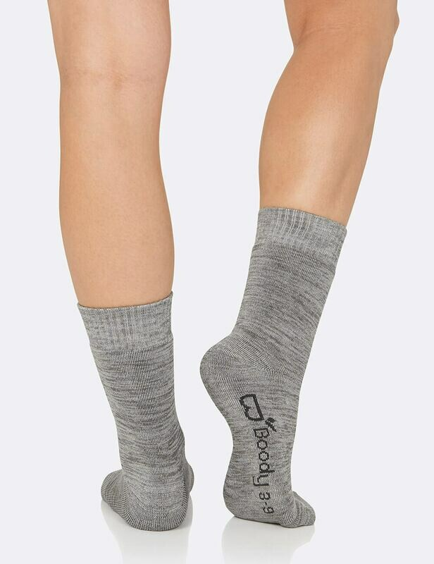 Boody Chunky Socks Grey