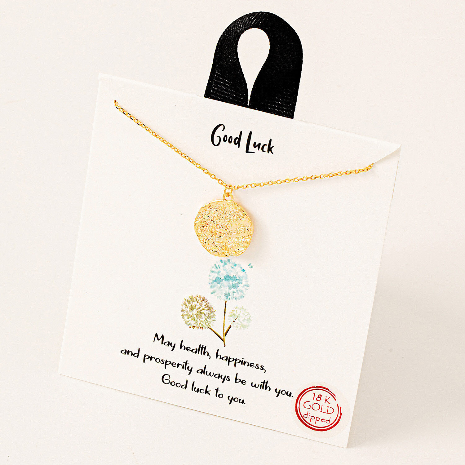 FA Necklace Good Luck