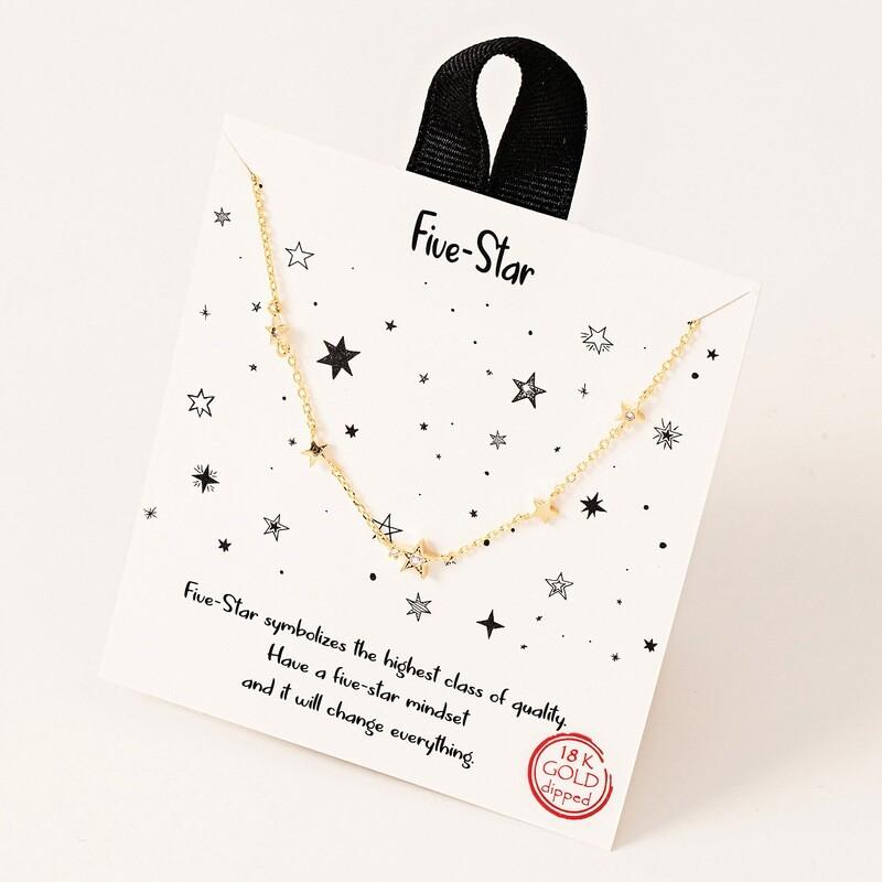FA Necklace Five Star
