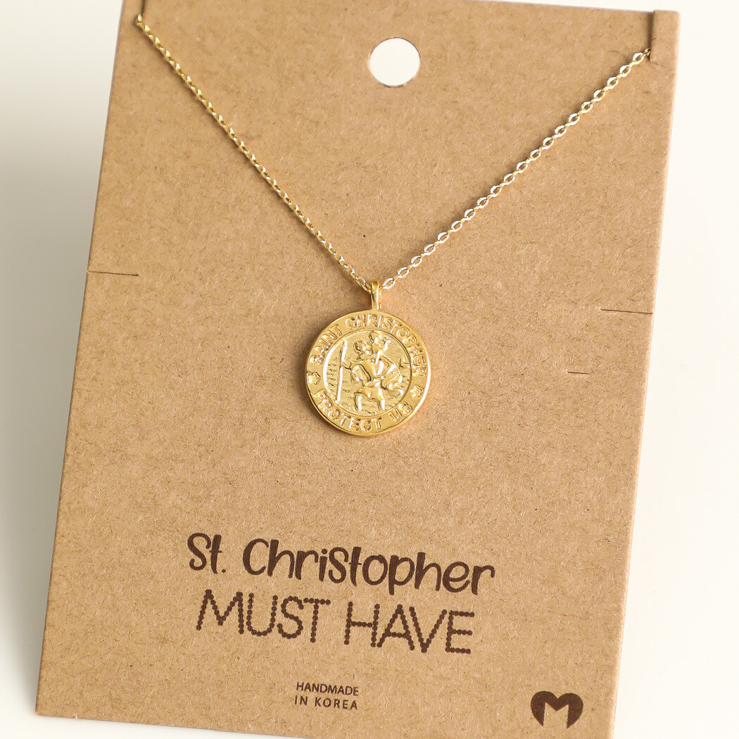 FA Necklace St. Christopher