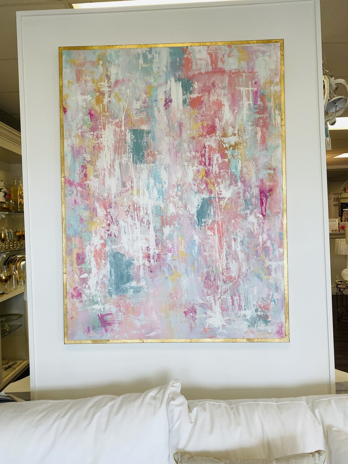 36x48 Pretty In Pink Painting
