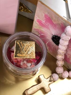 Designer Valentines Jar LV