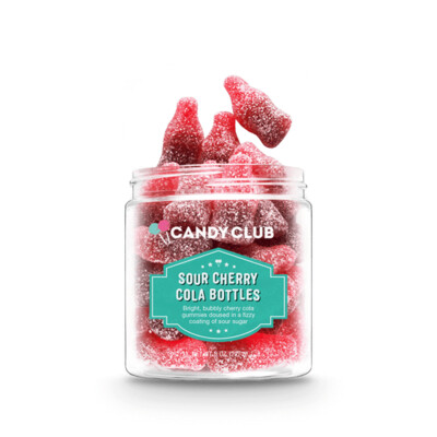 Candy Club Sour Cherry Cola Bottles