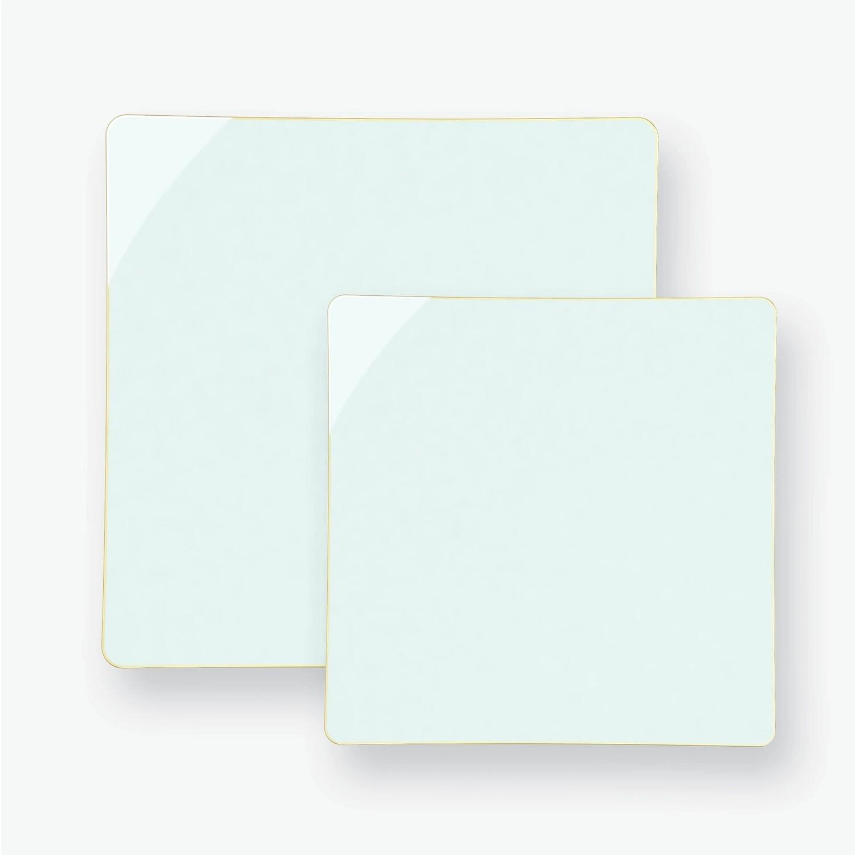 Luxe Dessert Plates Mint