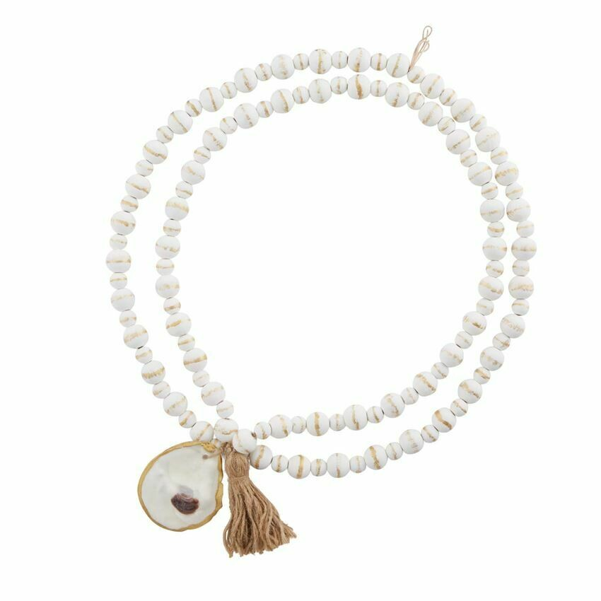 Oyster Decorative Beads White