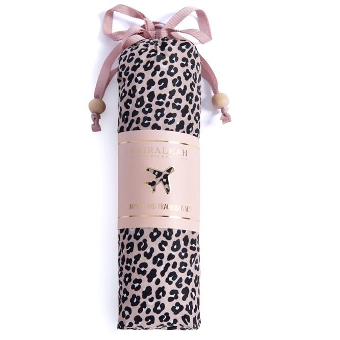 SC Leopard Garment & Travel Bag Set