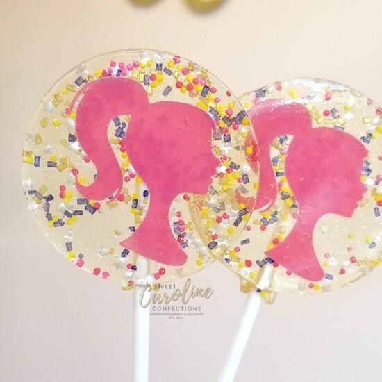 SC Barbie Lollipop Raspberry