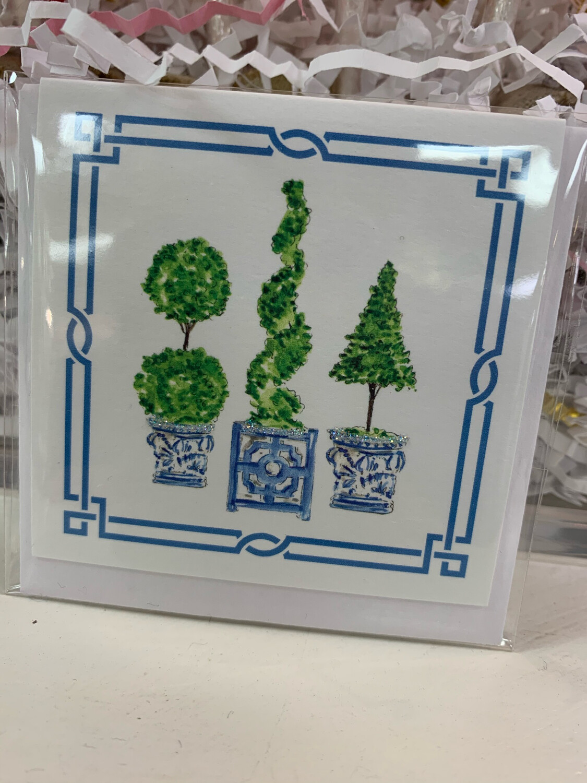 Enclosure Card Topiary