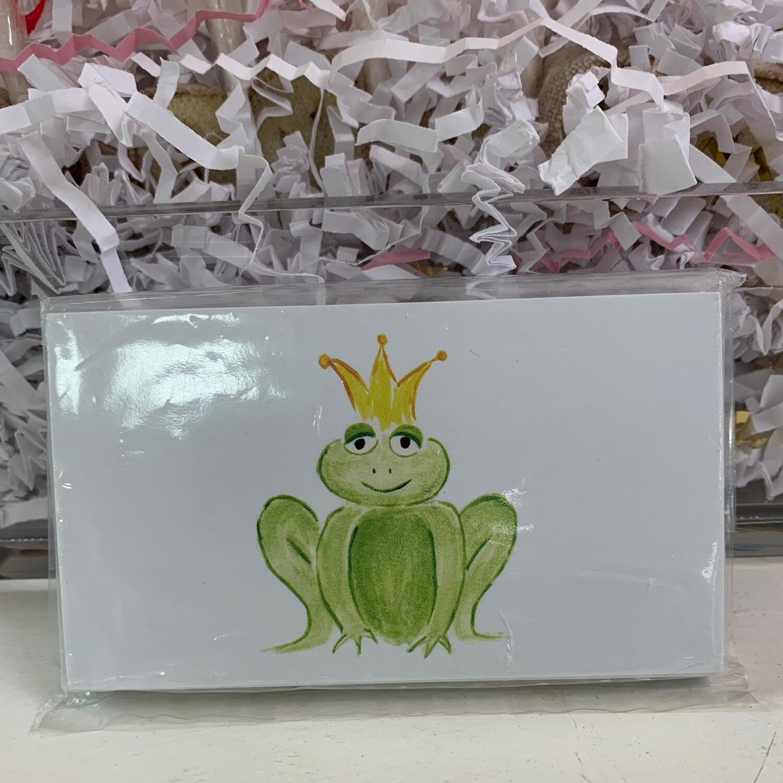 25 Gift Tags Frog