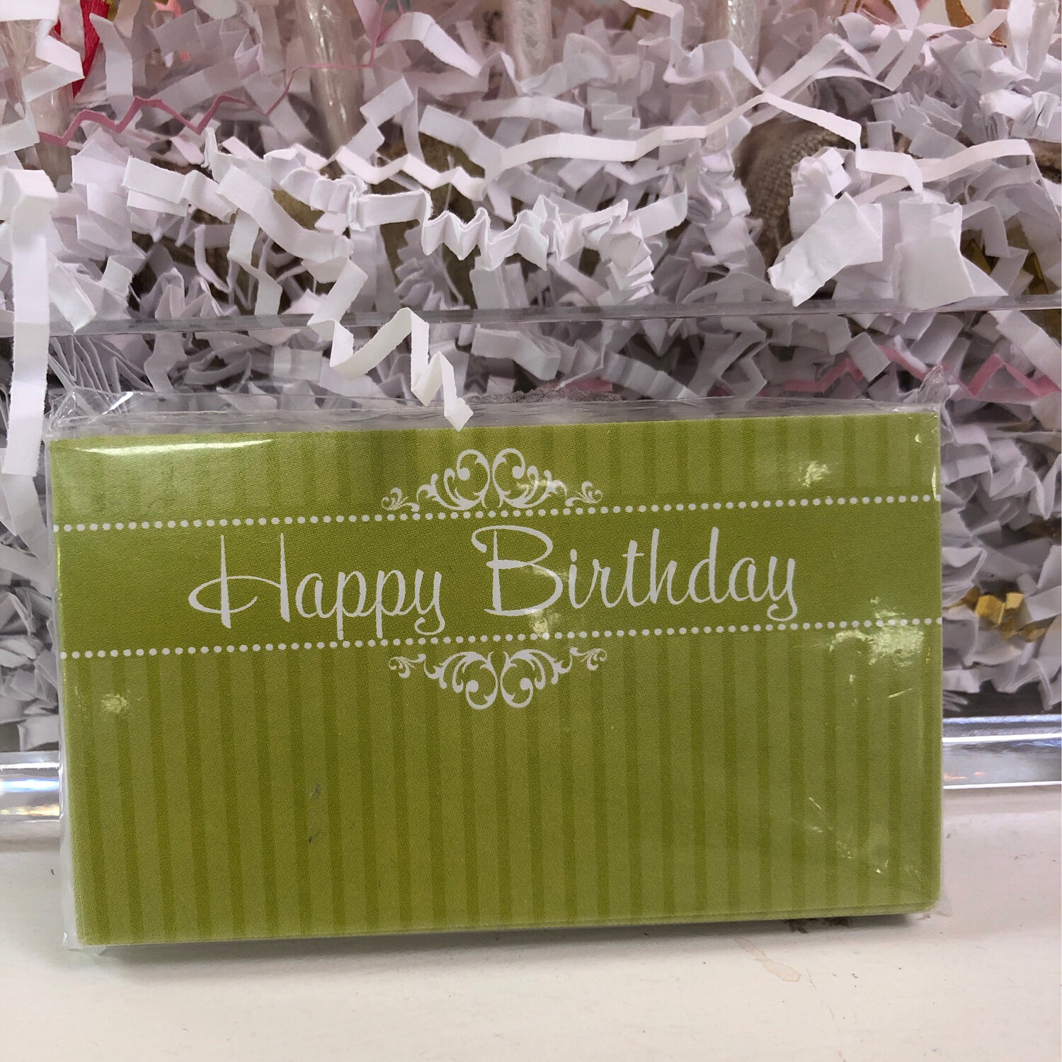 25 Gift Tags Happy Birthday
