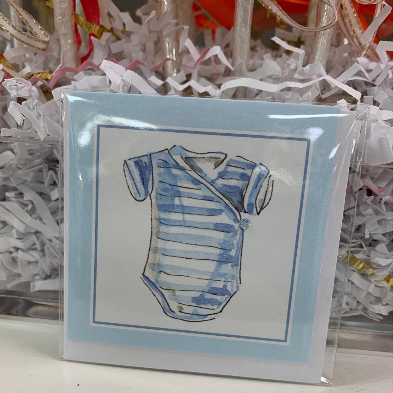 Enclosure Card Baby Boy