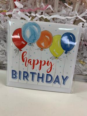 Enclosure Card Happy Birthday