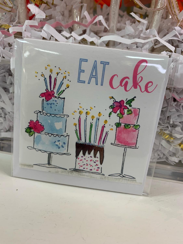 Enclosure Card Eat Cake