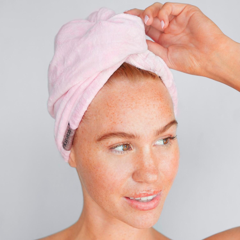 Kitsch Hair Towel Blush