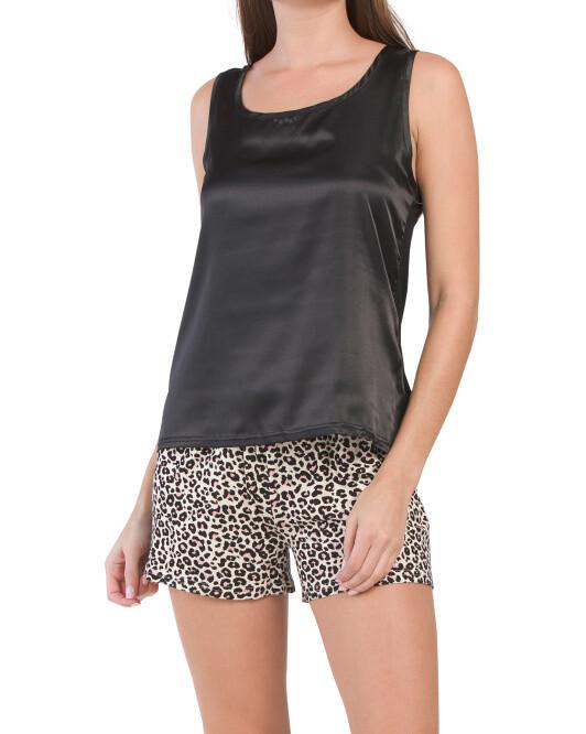 CM Leopard PJ Short Set LARGE