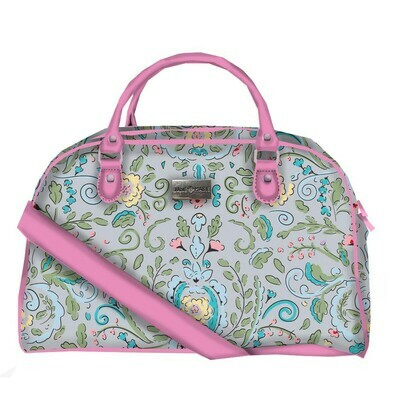 JM Paisley Overnight Bag