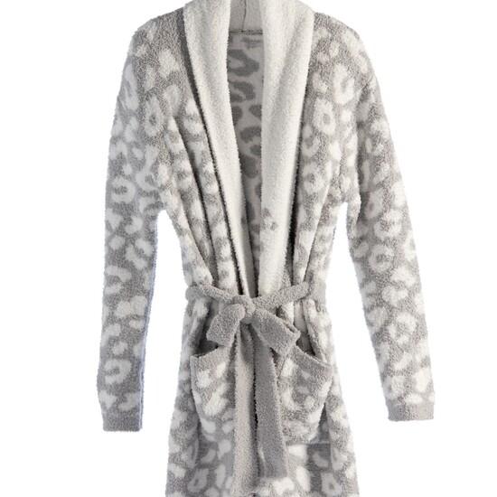 Robe Calista Grey Leopard
