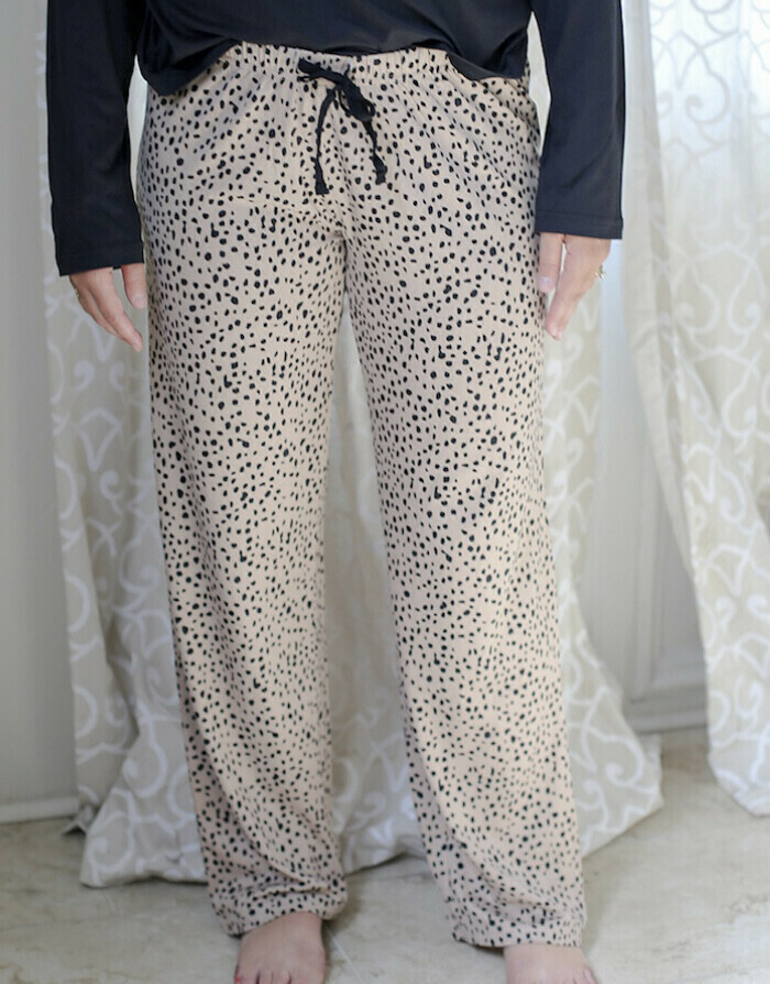 TRS Cheetah Sleep Pants Large