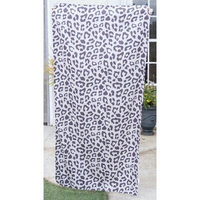 TRS Leopard Microfiber Beach Towel