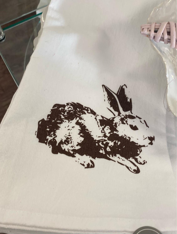 TRS Bunny Hand Towel