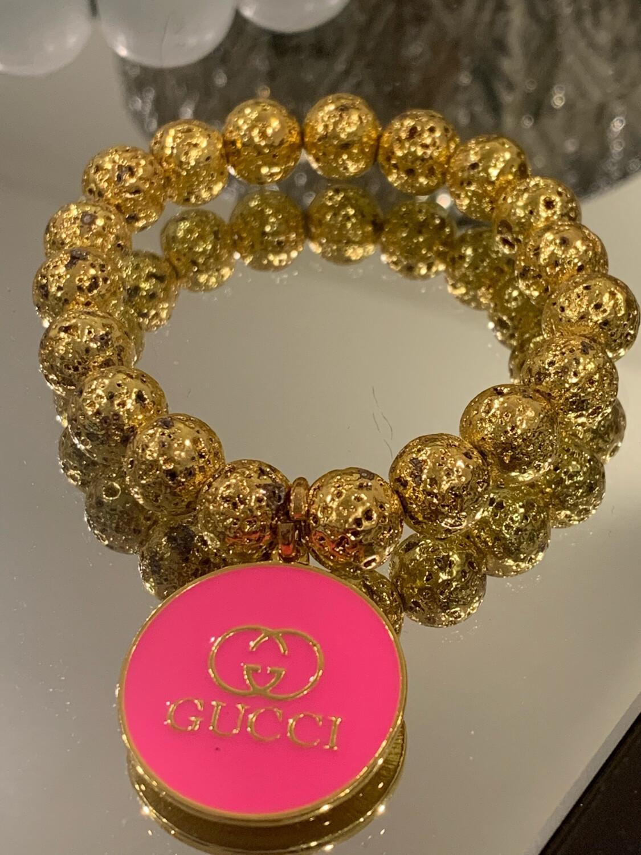SJ Inspired Bracelet Hot Pink Gucci