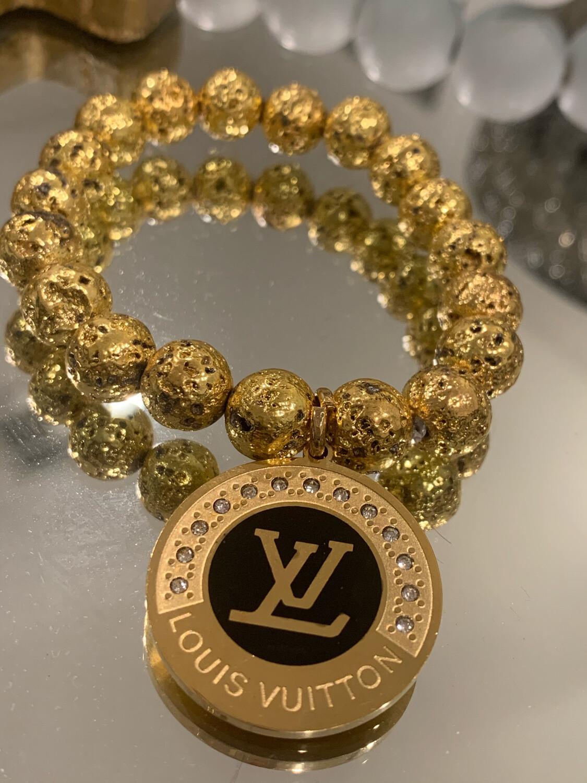 SJ Designer Bracelet Black Diamond LV
