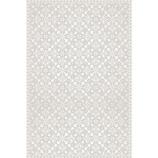 A&A 2x3 Mat Light Gray Clover