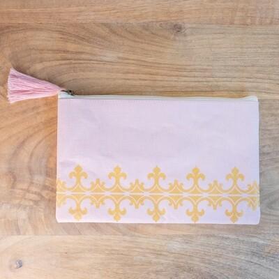 TRS Savannah Cosmetic Bag Blush/Gold