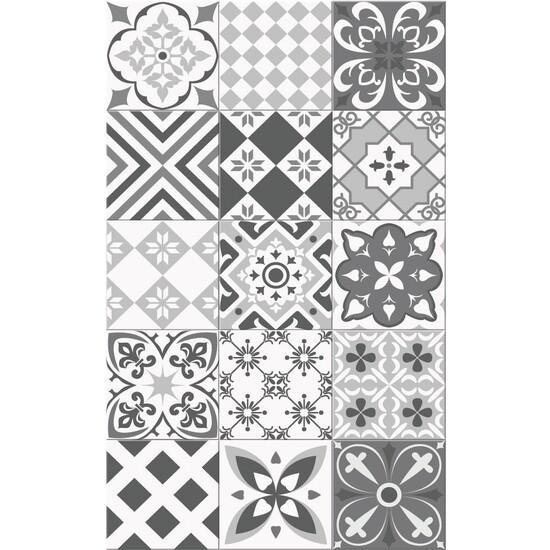 A&A 2x3 Mat Tile Collage Gray