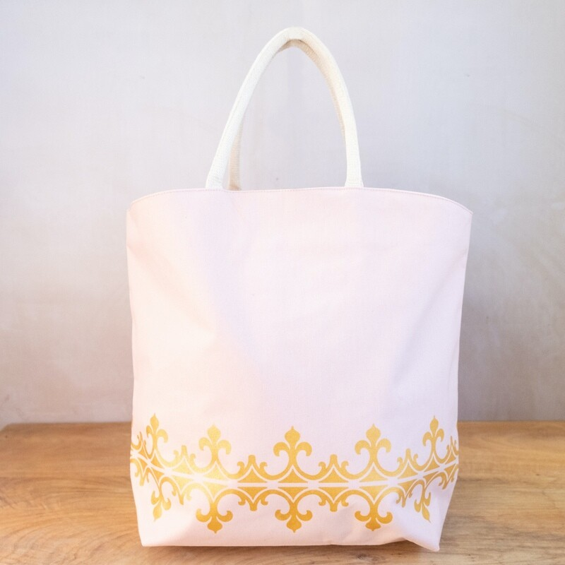TRS Savannah Tote Blush/Gold