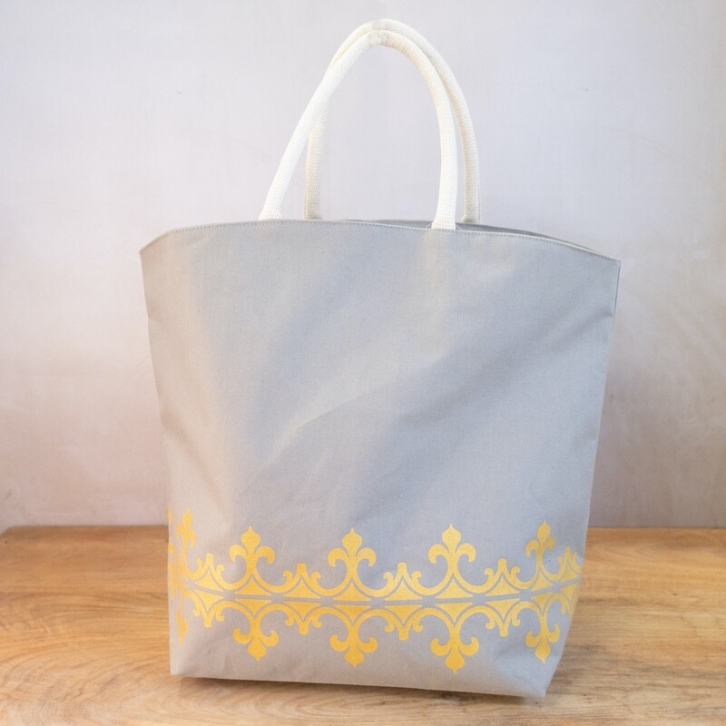 TRS Savannah Tote Gray/Gold