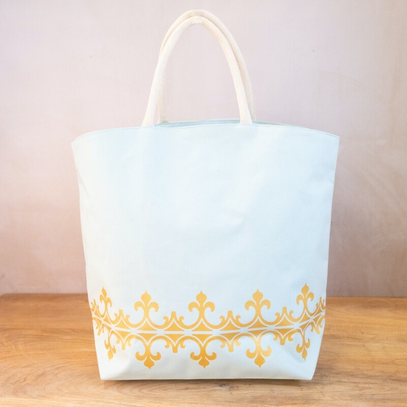 TRS Savannah Tote Sky/Gold