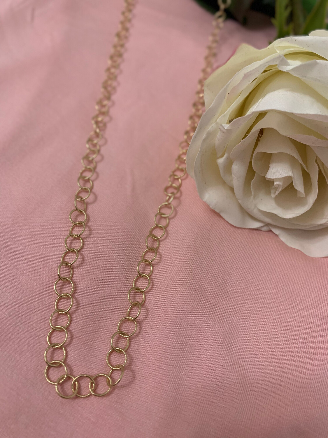 Love AO Necklace Gold Chain