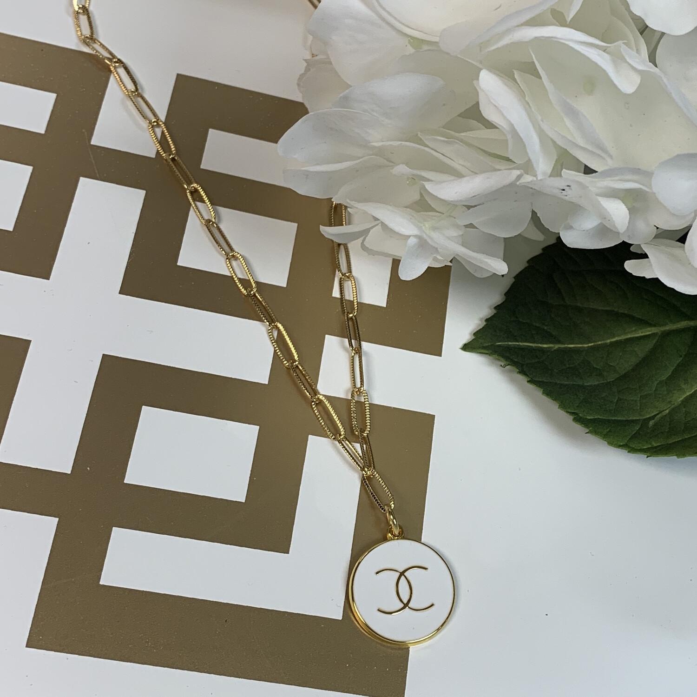 SJ Inspired Necklace White CC
