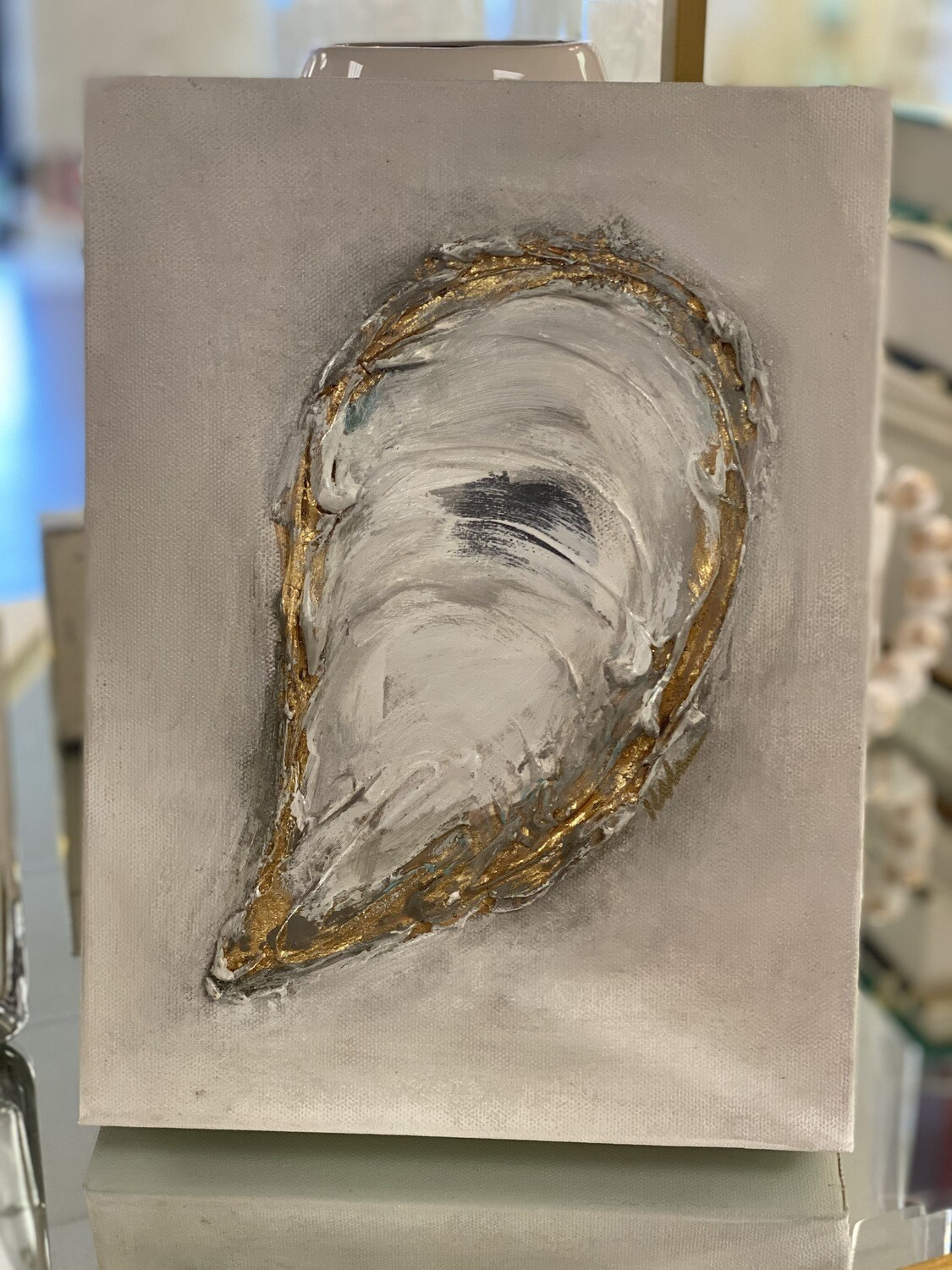 9x12 Oyster Painting 2