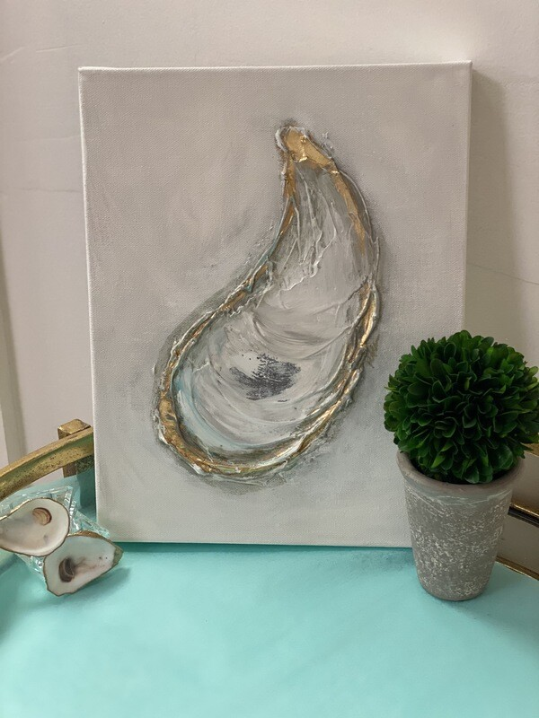 11x14 Oyster Painting 2