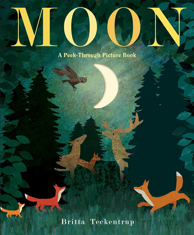 Moon Peek Through Picture Book