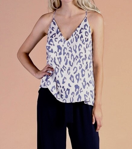 TY Leopard Cami
