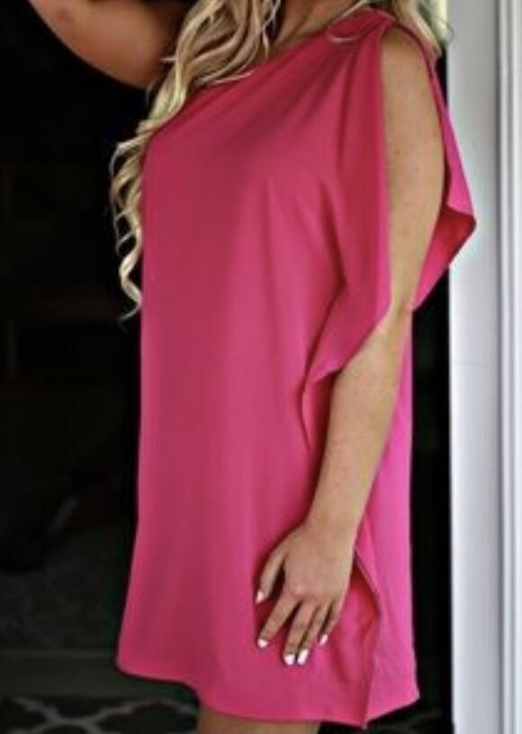TY One-Shoulder Dress