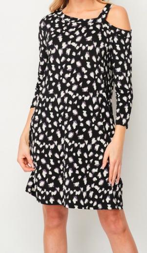 HM Cold Shoulder Dress