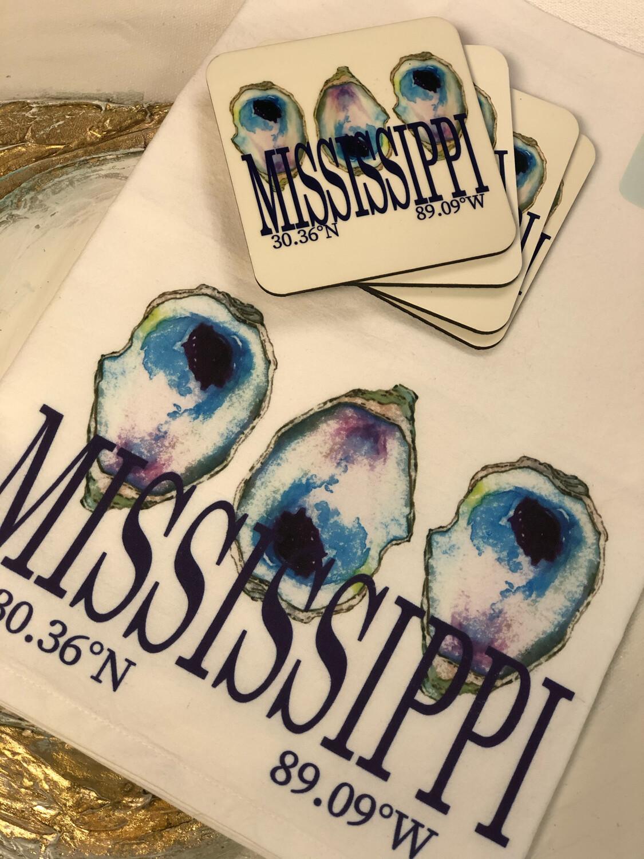 Poppy Mississippi Multi Oyster Towel