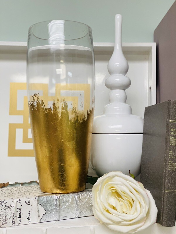 Gold Gild Dome Vase