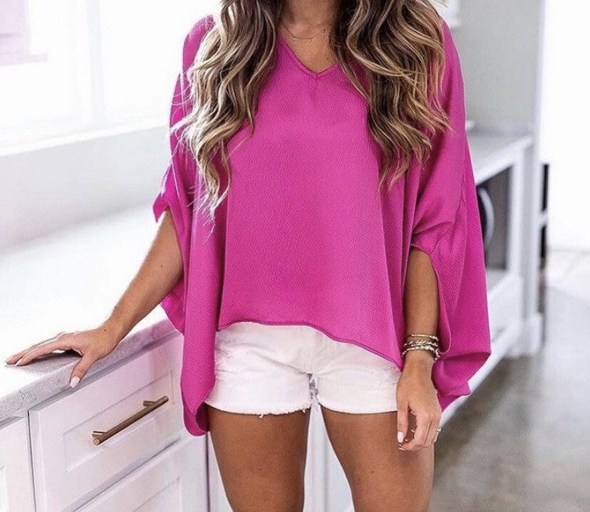 TY Hammered Caftan Top