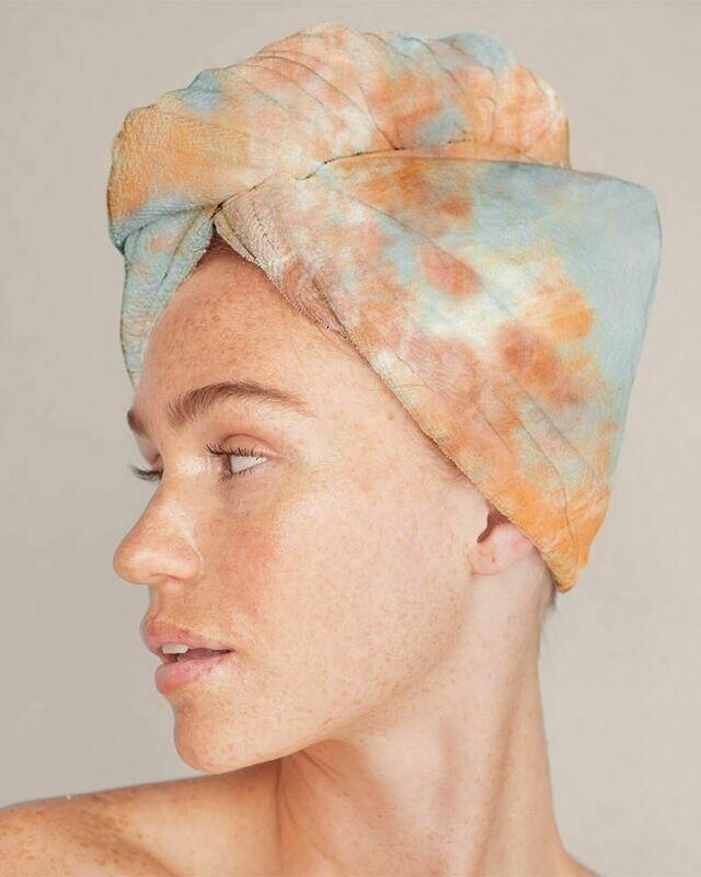 Kitsch Hair Towel Sunset TieDye