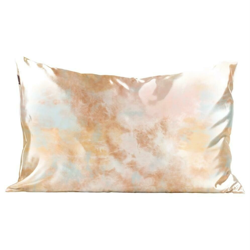 Kitsch Satin Pillowcase Sunset TieDye STANDARD