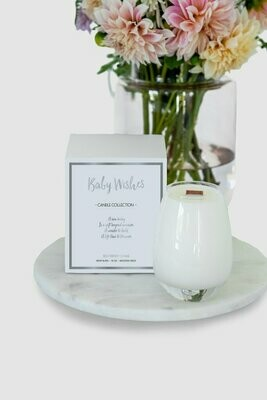 Gratitude Candle Baby Wishes