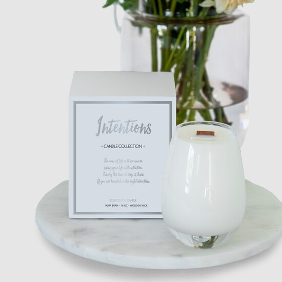 Gratitude Candle Intentions