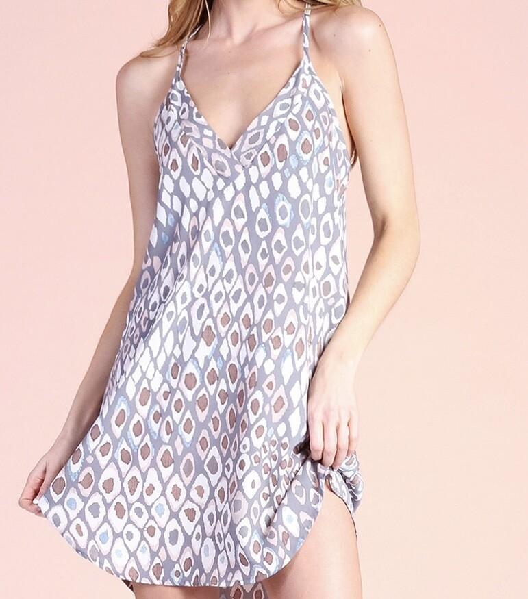 TY Desert Drake Print Dress